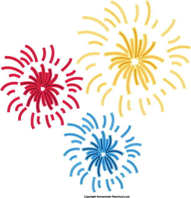 Fireworks clipart colorful firework Firework Free Colorful com For