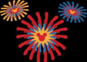 Fireworks clipart disney firework  SVG Magical Magical cuts