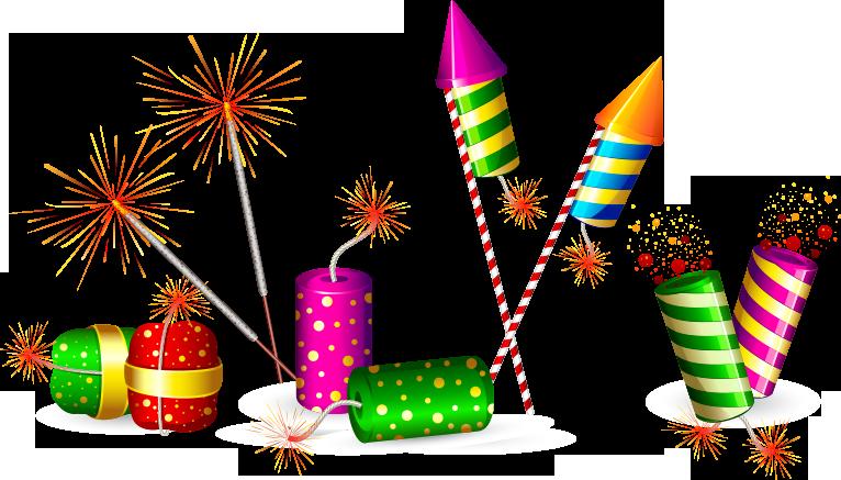 Fireworks clipart diwali cracker Crackers 75% Online Flat Crackers