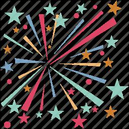 Fireworks clipart enjoyment Enjoyment spark stick  happiness