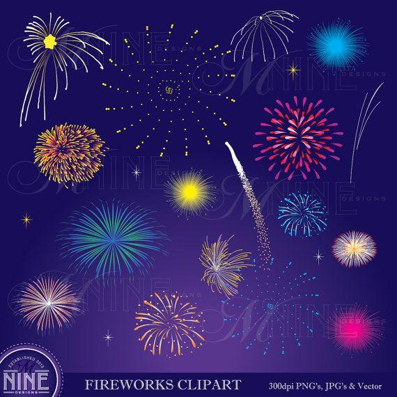 Fireworks clipart enjoyment FIREWORKS Instant Fireworks on Digital