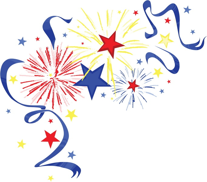 Fireworks clipart enjoyment Clipart Around Things 4th of