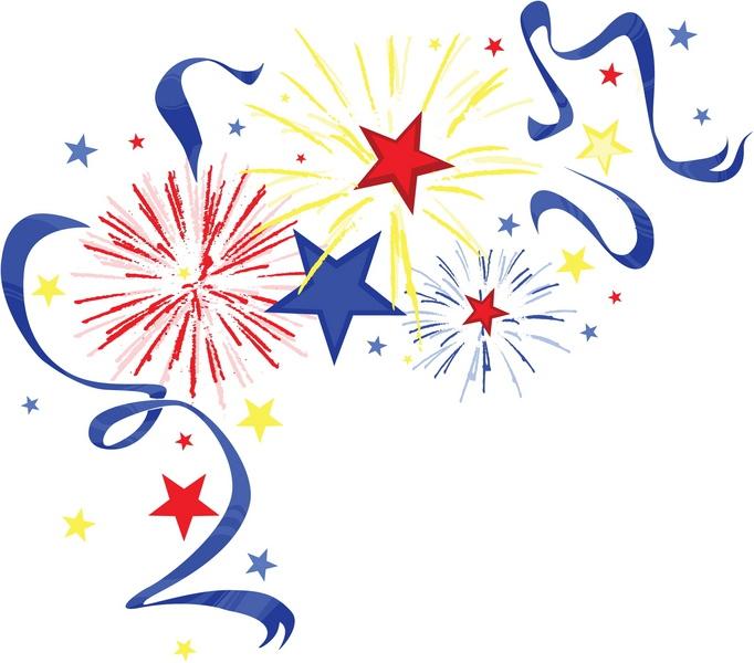 Fireworks clipart flag #1  Pinterest Fireworks Clip