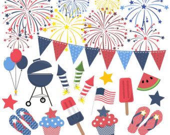 Sparklers clipart fourth july firework Of Fireworks SALE July Fourth