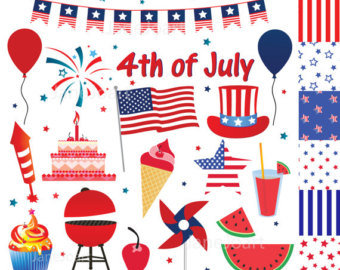 Sparklers clipart fourth july firework Fourth 6 July of clipart