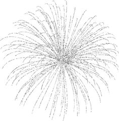 Silver clipart blue firework Red png july Fourth Bursting