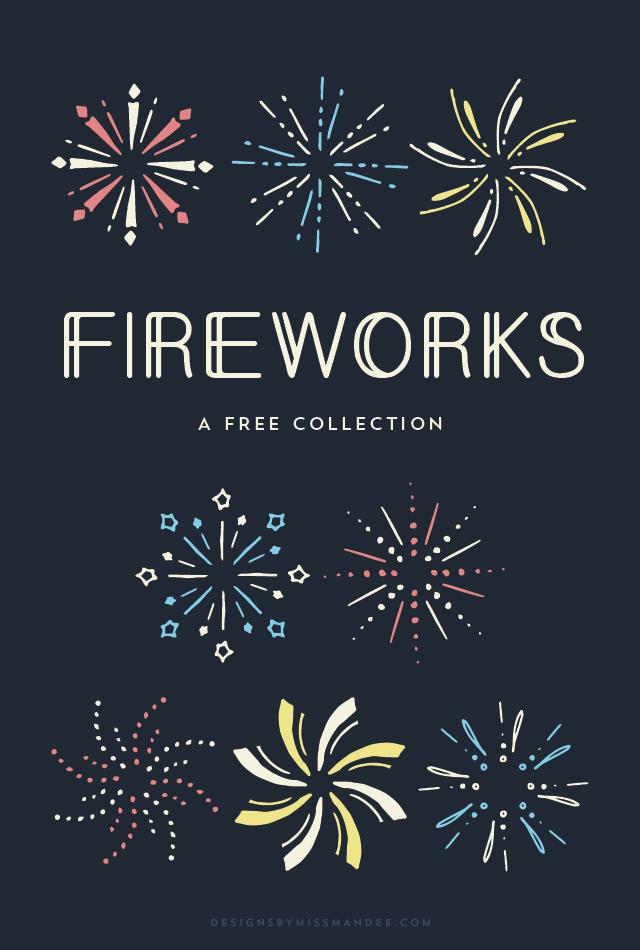 Fireworks clipart hand drawn Clip of Designs Art Miss