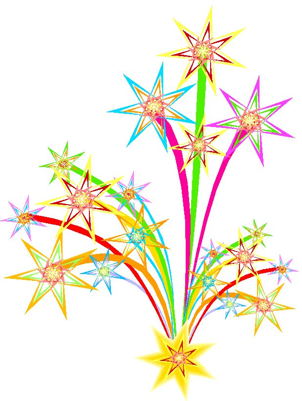 Moving clipart celebration Art New Fireworks Clipart Clip