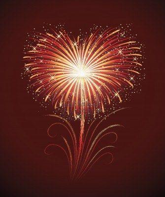 Fireworks clipart heart shaped A best of shape heart