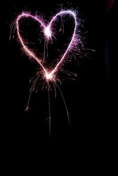 Fireworks clipart heart shaped Blue # Heart Fireworks BEAUTIFUL