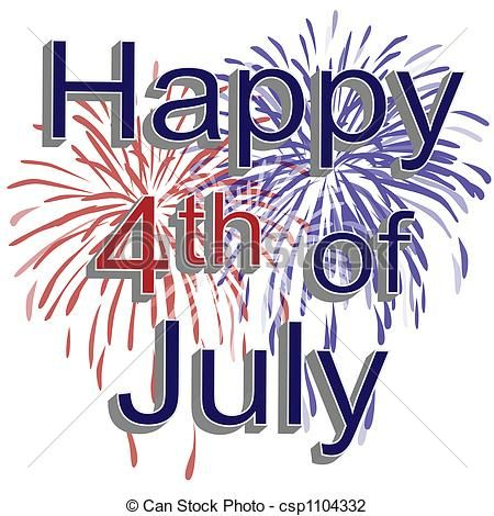 Sparklers clipart fourth july firework Of 25+ Happy July 4th