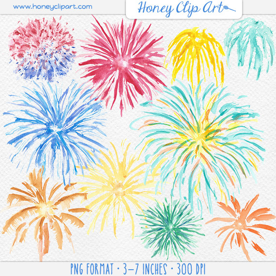 Sparklers clipart fourth july firework Of Fireworks Clipart July Fourth