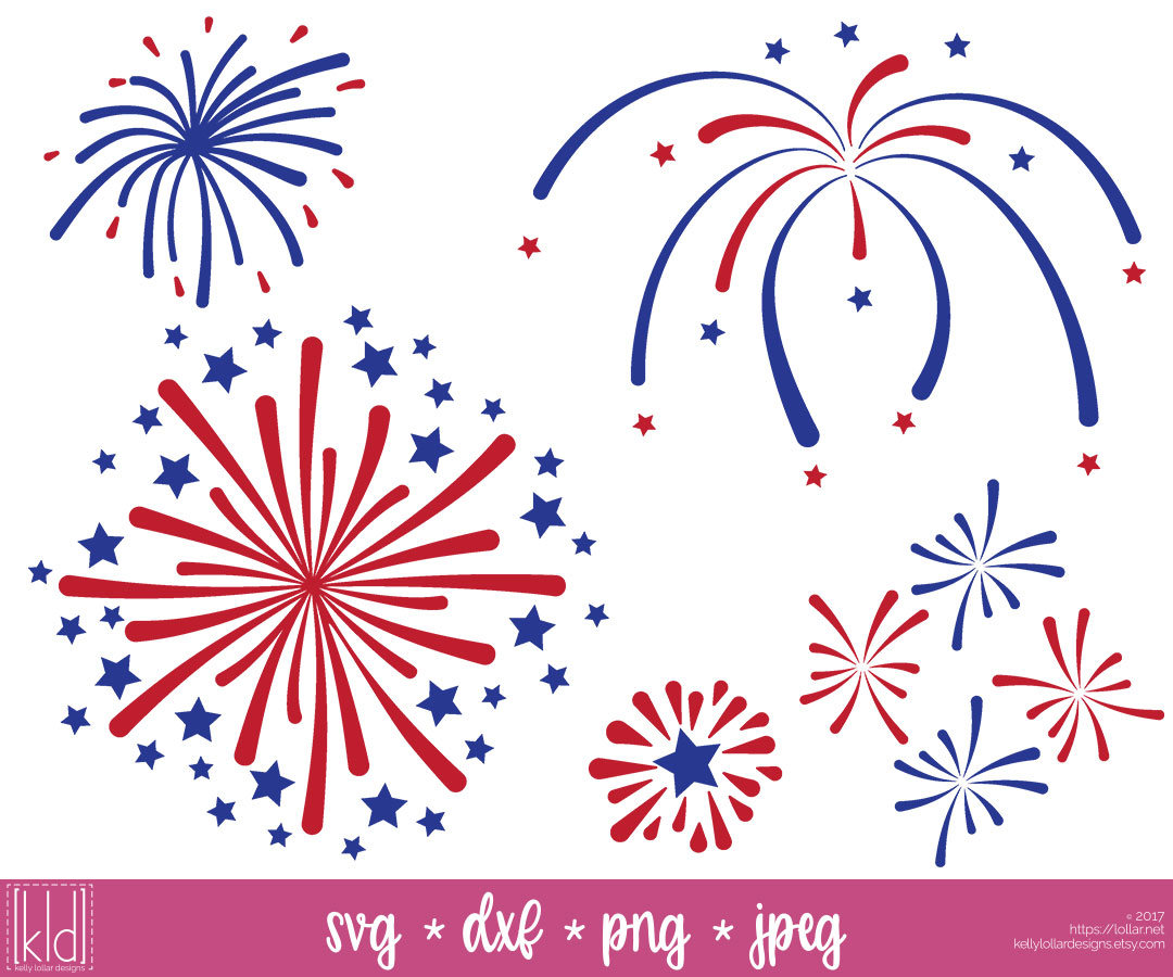Fireworks clipart independence day firework #8