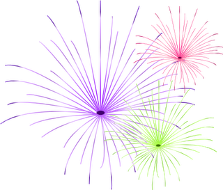 Fireworks clipart january Open Here 2012 January Box