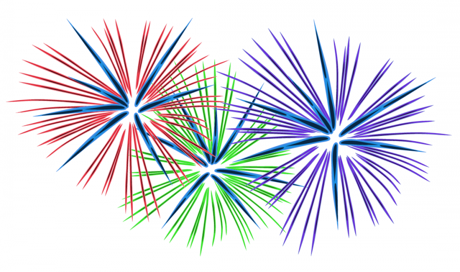 Fireworks clipart january Student Hawk Year : Me