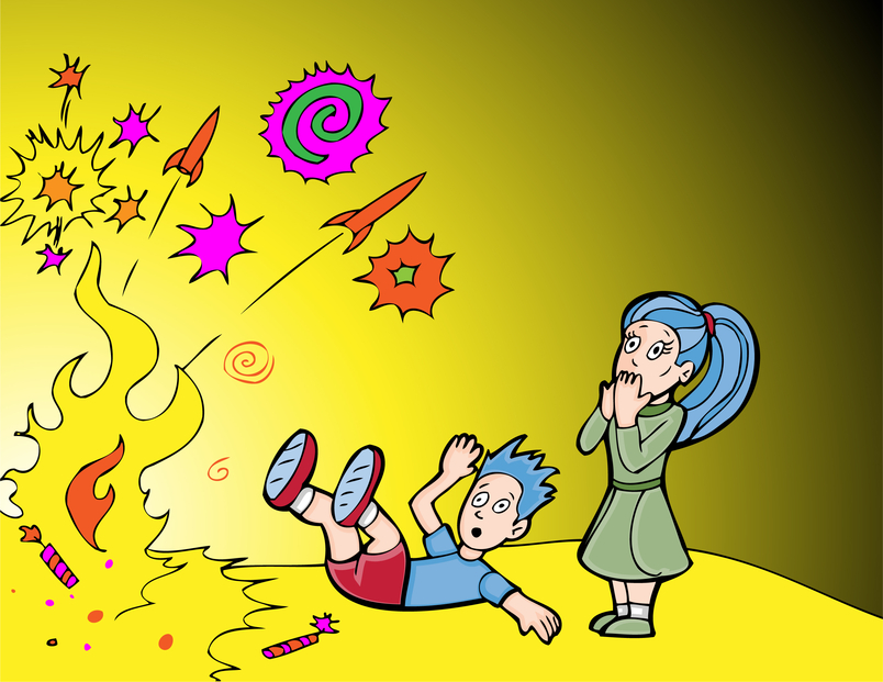 Fireworks clipart kid Identity Keep Doctor Fireworks How