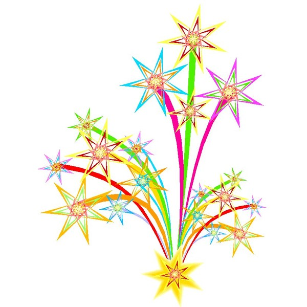 Fireworks clipart kid Fireworks ❤ liked Clipart