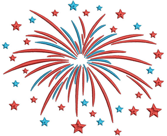 Fireworks clipart memorial day By Happy by Happy Day