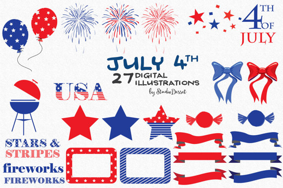 Fireworks clipart memorial day This SALE 4th a Cliparts