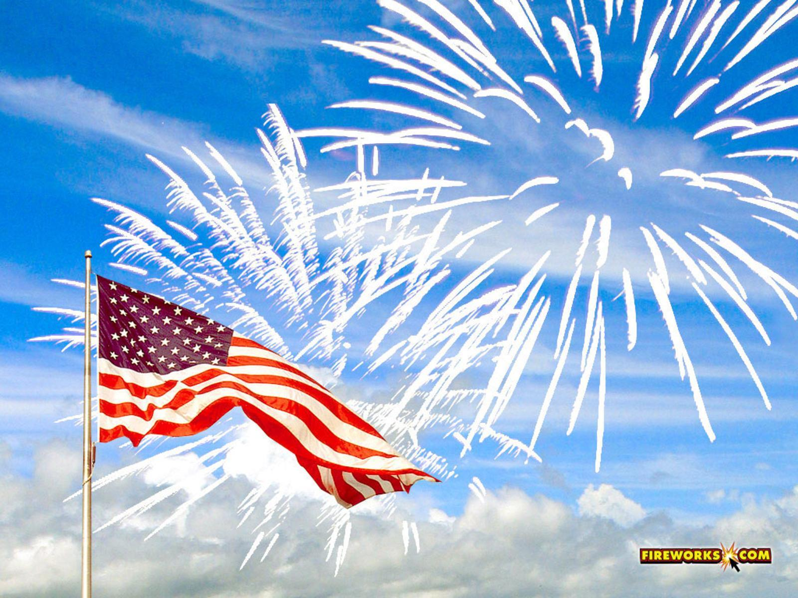 Fireworks clipart memorial day Memorial Of  4th of