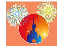 Fireworks clipart mickey mouse  Fireworks Disney Head Mickey