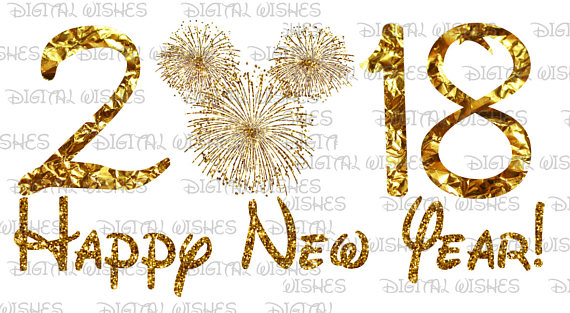 Fireworks clipart mickey mouse Year with Digital New Happy