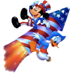 Fireworks clipart mickey mouse Mickey Mouse Duck Donald and