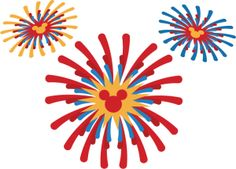 Fireworks clipart mickey mouse File Mickey svg cut SVG