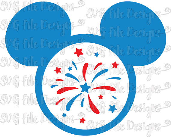 Fireworks clipart mickey mouse Mickey Fireworks Clipart July of