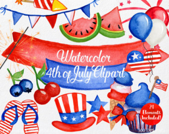 Fireworks clipart navy blue Commercial 24 Clipart Etsy Pieces