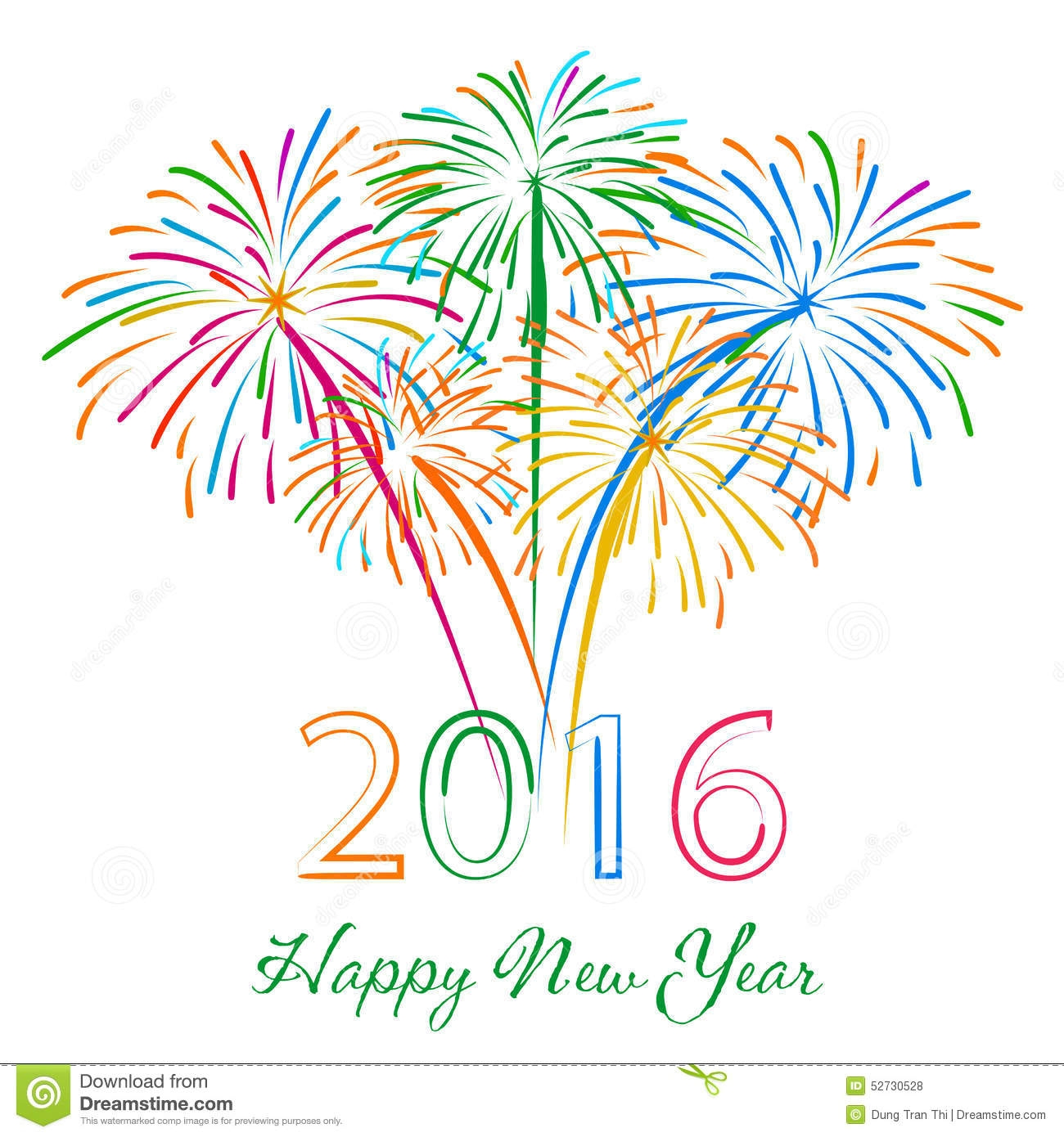 New Year clipart firecracker 2017 year new Clipart