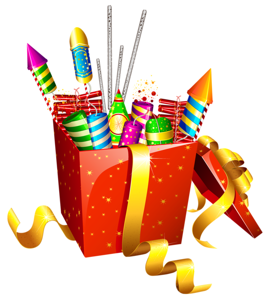 Fireworks clipart one 4 with Clipart Box Box