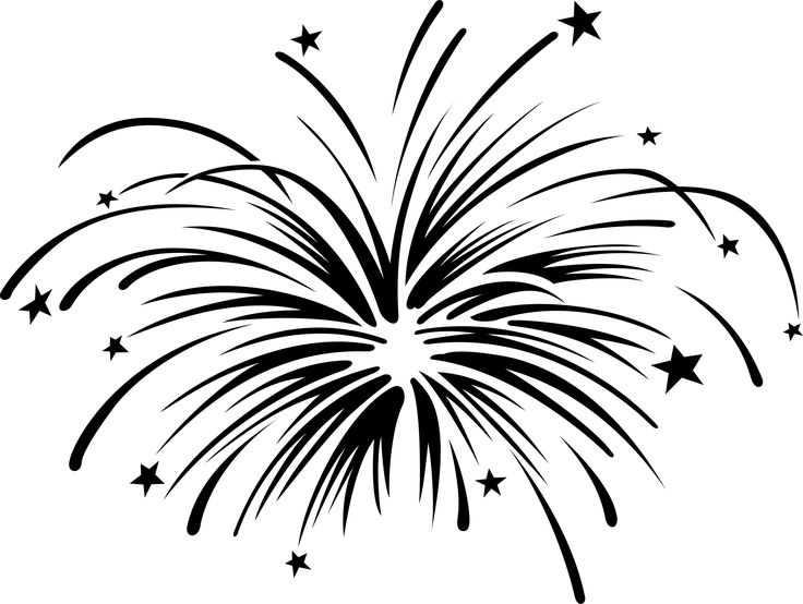 Fireworks clipart one Drawing best on Clipart The