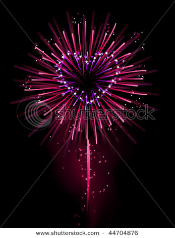 Fireworks clipart one Relevance ❥♥♥♥♥ to you only