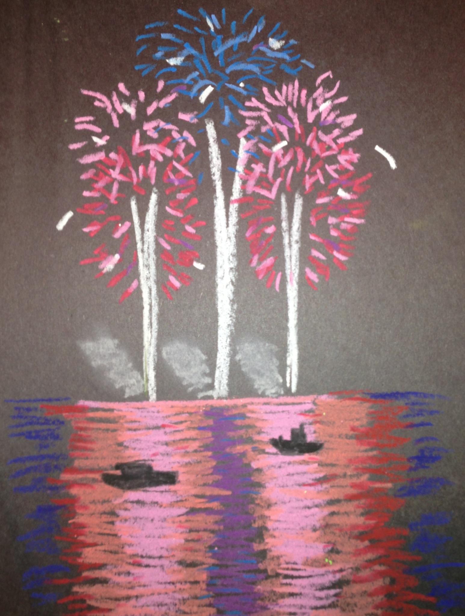 Fireworks clipart pastel Of  Bar Joker's Nite