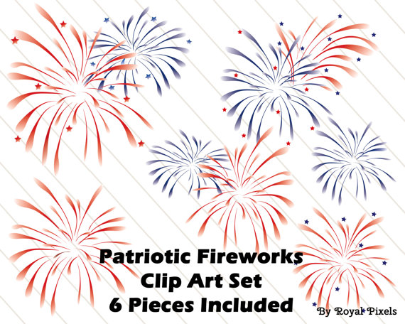 Fireworks clipart patriotic firework July #29 Fourth They as