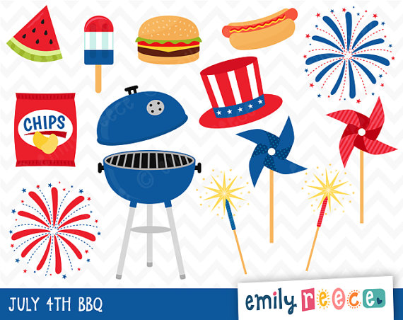 Fireworks clipart picnic July 4th fireworks Google Google