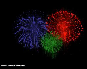 Celebration clipart powerpoint free download Free Template Fireworks Powerpoint Fireworks
