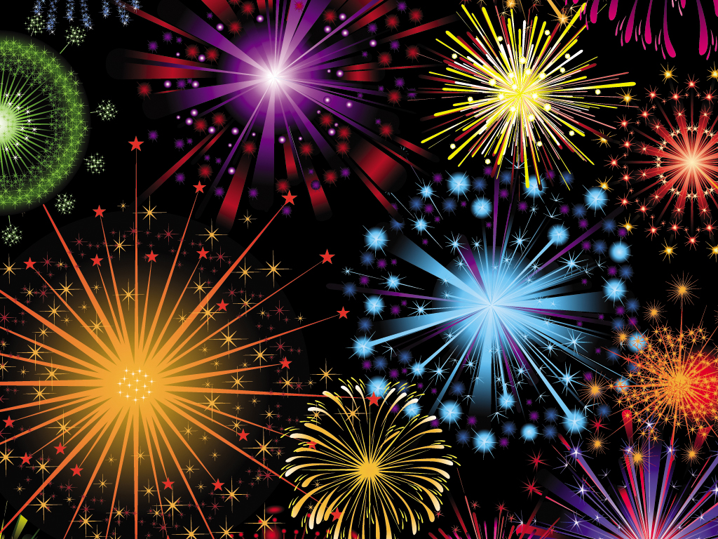 Fireworks clipart powerpoint free download Free Backgrounds powerpoint On ·