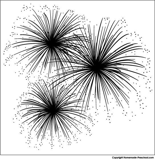 Fireworks clipart silhouette Fireworks Google Pinterest art 16