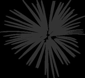 Fireworks clipart silhouette Firework (#333333) Clip art Grey
