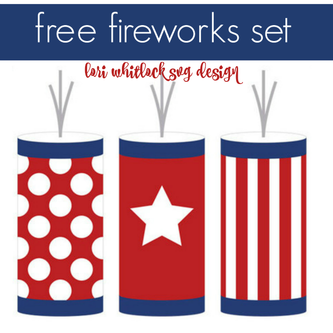 Fireworks clipart silhouette Of 4th and Free Whitlock