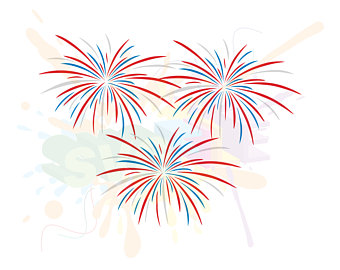 Fireworks clipart silhouette Files for SVG SVG Silhouette
