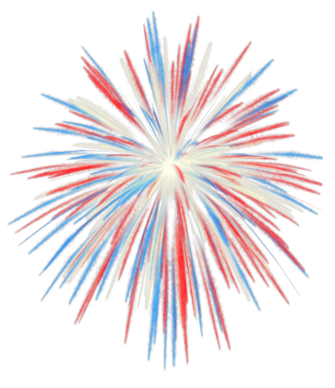 Sparklers clipart fourth july firework Image fireworks Clipart transparent fireworks