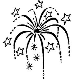 Fireworks clipart wedding SVG Pinterest Hairstyle Firework free