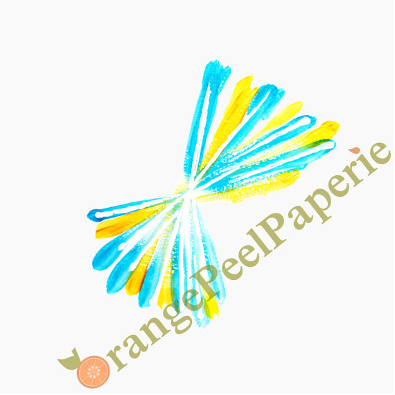 Fireworks clipart yellow Etsy Art Fireworks on Yellow