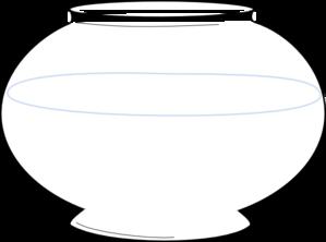 Line Art clipart fish bowl Fishbowl com Clip clip