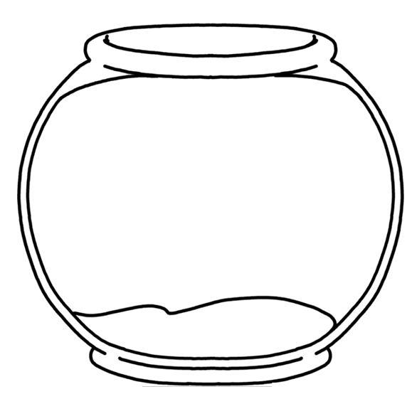 Fish Bowl clipart Royalty Fishbowl 572x554 Fishbowl 21KB