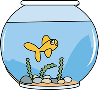 Fish Bowl clipart Clipart Art girl bowl 95
