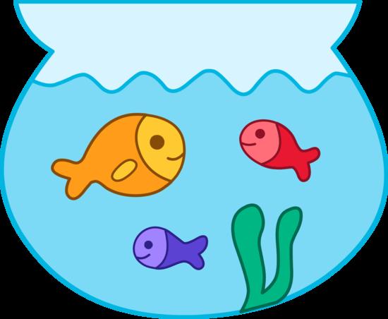 Fish Bowl clipart Clker clip Fish clipart bowl